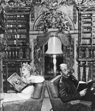 Patrick Dennis y Belle Poitrine por Cris Alexander del libro